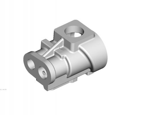 Air compressor body mould
