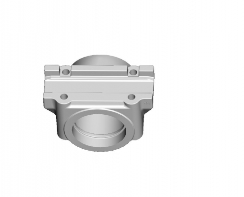 Balance shaft shell mould
