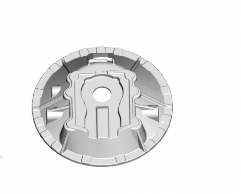 Clutch housing mould