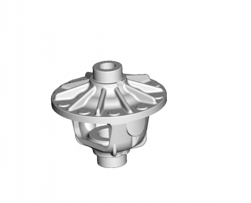 Differential housing mould