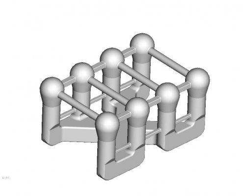 Electrode mold