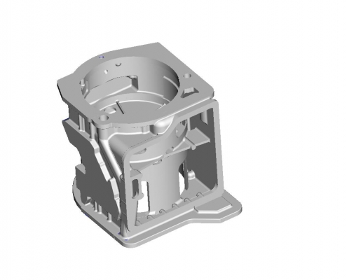 Gearbox housing mold