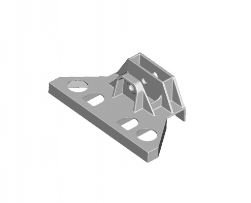 Mine car bracket mould
