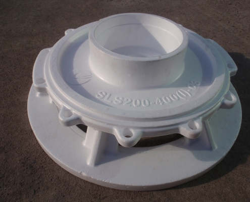 Pump cover mould