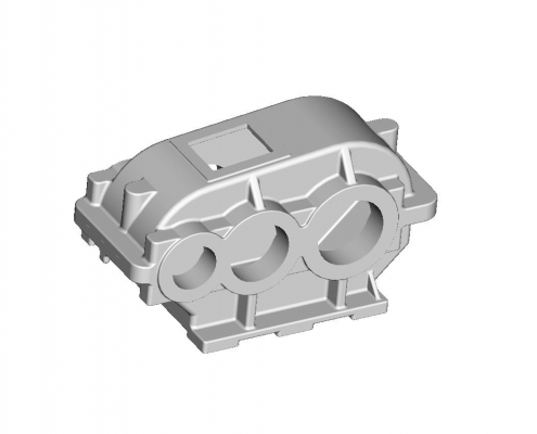 Reducer housing mold