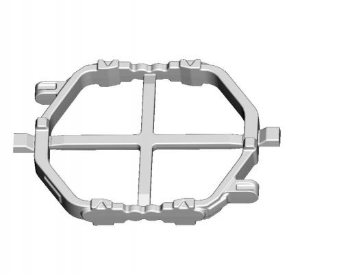 Reverse fork mold