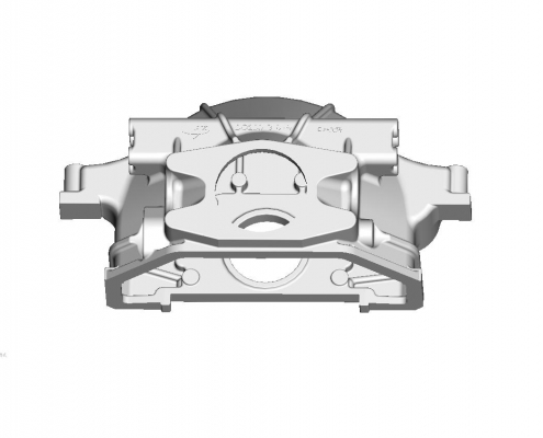 Tractor clutch housing mould