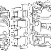 cylinder liner Engine block2