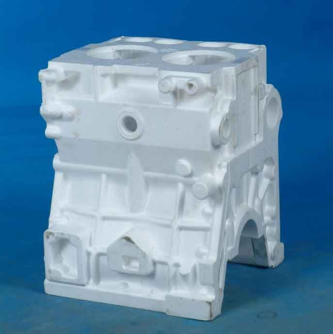 Two-cylinder-body-mould