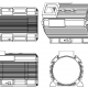 Motor housing mechanism diagram