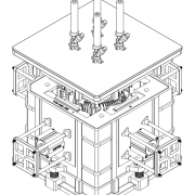 Mold assembly drawing